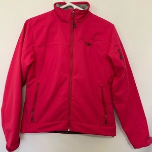 Outdoors research hot pink jacket